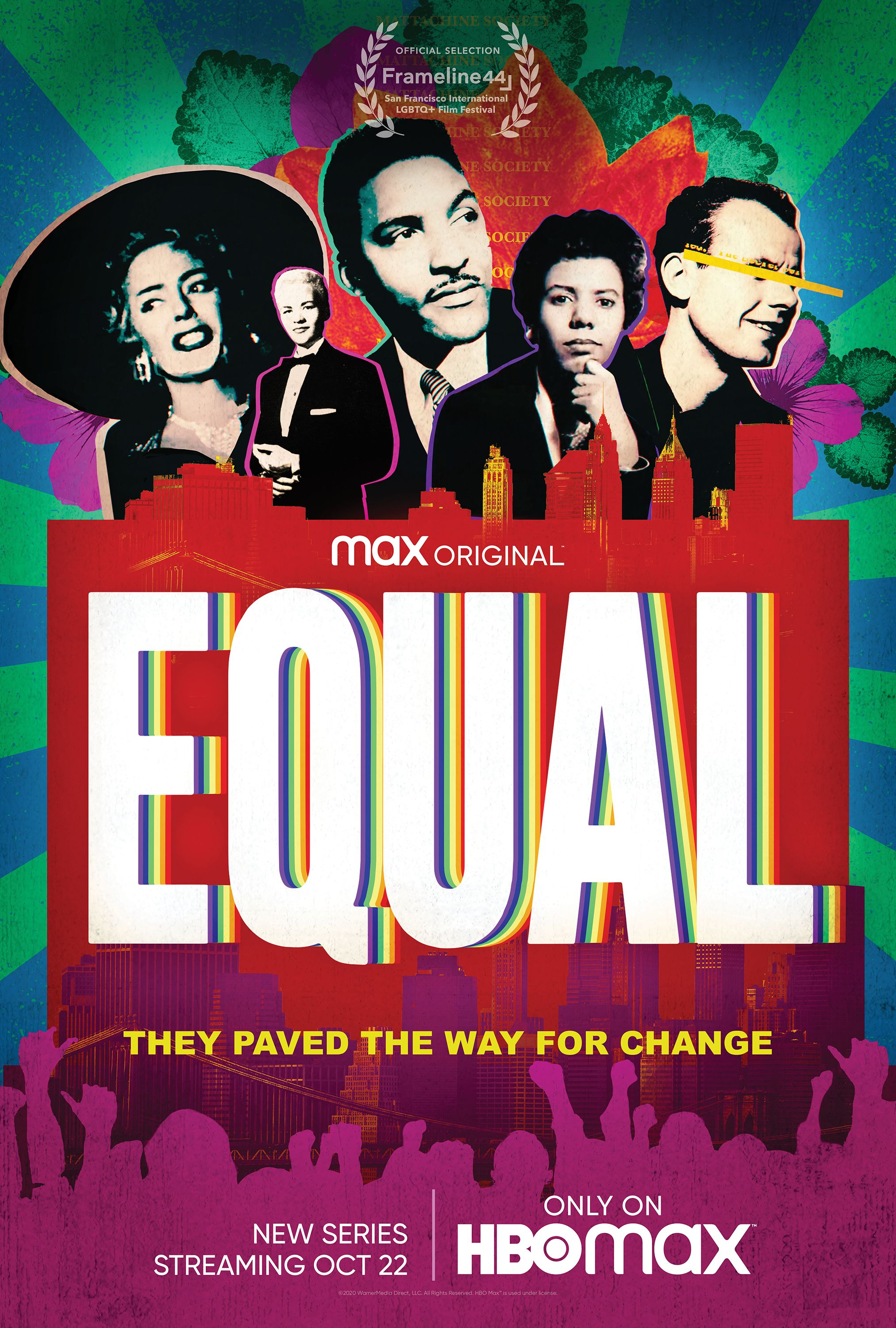 HBO Max Poster of new docuseries, EQUAL
