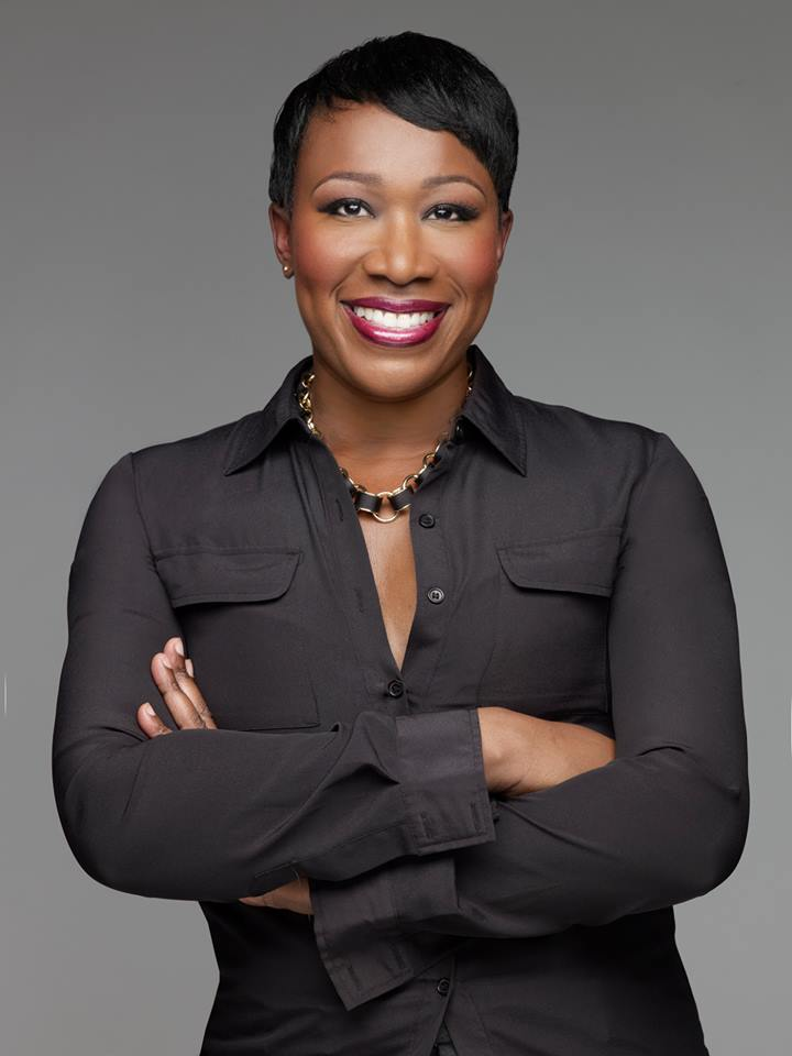 Photo of Reimagining Biography moderator Joy-Ann Reid